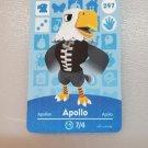 297 Apollo Amiibo Card for Animal Crossing FAN made