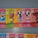 ANY 3 Amiibo Card for Animal Crossing FAN made