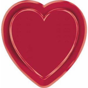 Casino Party Snack Tray - Heart