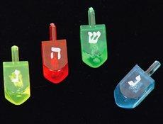 Plastic Dreidels