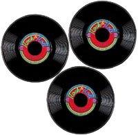 Rock & Roll Record Decoration