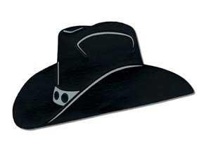 Cowboy Hat Cutout Decoration