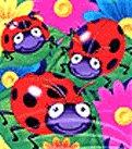 Ladybug Birthday Dessert Napkins