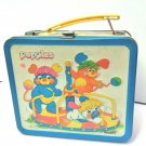 Popples - Aladdin Tin Lunchbox ( 1986 )    No Thermos -