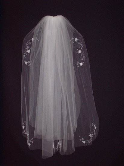 Bridal Veil 183  Ivory