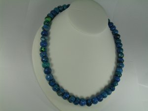 Treatad  Lapiz Lazuli Necklace Set RB782