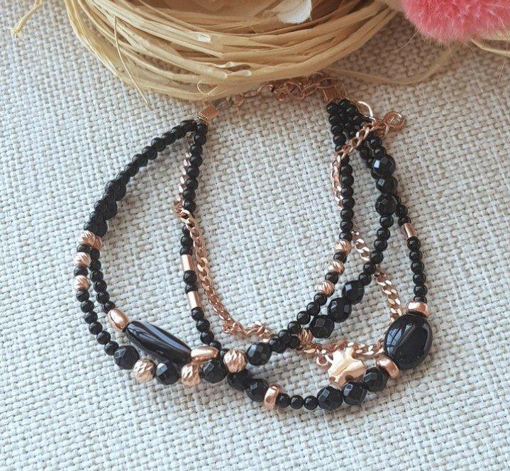Onyx Stone Bracelet
