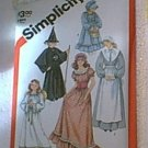 Angel Witch Pioneer Costumes Girls Simplicity Pattern 5741 Uncut