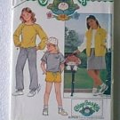 Cabbage Patch Kids Tops Skirt Shorts Pants Butterick Pattern 6706 Sz 7 8 10 Uncut