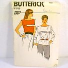 Fast N Easy Misses Tops Blouse Butterick Sewing Pattern 4858 Sz 8 10 12 Uncut