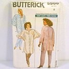 Misses Shirt Blouse & Pants Butterick Sewing Pattern 5900 Sz 8 1987 Uncut