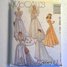 Beautiful Wedding Gown & Bridesmaid Dress McCalls Sewing Pattern 5746 Sz 8 Uncut