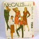 Misses Top Blouse Pants Skirt Sz 14 McCalls Sewing Pattern 7264  Uncut