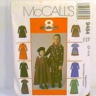 8 in 1 Girls Dresses 2 Lengths McCalls Sewing Pattern 9484 Sz 4 5 6 Uncut