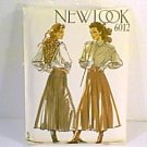 6 in 1 Ladies Skirt Sz 8 - 18 New Look Sewing Pattern 6012 Uncut