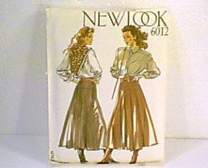 6 in 1 Ladies Skirt Sz 8 - 18 New Look Sewing Pattern 6012 Uncut