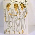 6 in 1 Tops Skirt Pants New Look Sewing Pattern 6258 Sz 8 - 18 Uncut