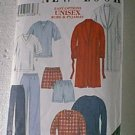 Unisex Robe Pjs Pajamas Men Women McCalls Sewing Pattern 6816 Sz S thru XL Cut