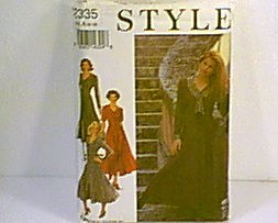 Dresses 3 Versions Style Sewing Pattern 2334 Sz 8  - 18