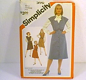 Misses Jumpers Simplicity Sewing Pattern 5196 Sz 16 18 20 Cut