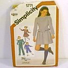 Stretch Knit Pants Knickers Mini Skirt Pulloever Tops  Simplicity Sewing Pattern 5771 Sz Sm 7 Uncut