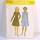 Miss & Womans Dress Simplicity Sewing Pattern 6155 Sz 20 Miss Uncut
