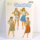 Ladies Coulottes 4 Lengths Simplicity Sewing Pattern 6376 Sz 12 Miss Uncut