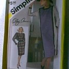 Misses Loose Fitting Dress Simplicity Sewing Pattern 6570 Sz 12 Miss Uncut