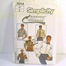Connoisseur Mens Shirts Good Envelope Simplicity Sewing Pattern 7015 Sz 44 Mens Uncut