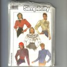 Misses Semi Fitted Blouse Top Shirt Simplicity Sewing Pattern 8240 Sz 12 14 16 Uncut