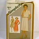 Misses Pullover Dress 3 Versions Simplicity Sewing Pattern 9865 Sz 14 Miss Uncut