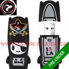Pirate Nero mimobot® 2GB USB Flash Drive by tokidoki