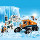 Building Block Bela City 10995 Arctic Ice reconnaissance truck Compatible Play Set Bricks Kit Toy