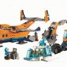 Building Block Bela City 10996 Arctic cargo plane Compatible Play Set Bricks Kit Toy
