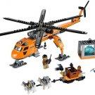 Building Block Bela City 10439 Urban Arctic helicopter Compatible Play Set Bricks Kit Toy