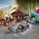 Building Block Bela Harry Potter 11009 Justice Magician Newt Salamander Suitcase Compatible Bricks