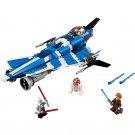 Building Block Bela Star Wars 10375 Jedi Starship Anakin Fighter Compatible Play Set Bricks Kit Toy