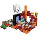 Building Block Bela Minecraft 10812 My World Dungeon portal underworld Compatible Play Set Bricks