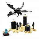 Building Block Bela Minecraft 10178 My World Dragon Edge Ender Compatible Play Set Bricks Kit Toy