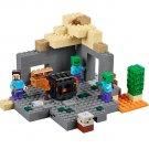 Building Block Bela Minecraft 10390 My World Dungeon Compatible Play Set Bricks Kit Toy