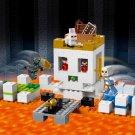 Building Block Bela Minecraft 10988 My World Arena Skull Compatible Play Set Bricks Kit Toy