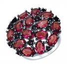 "Ring ""Purple Sparkles"" SOKOLOV 925 sterling silver Swarovski crystal jewelry gift"