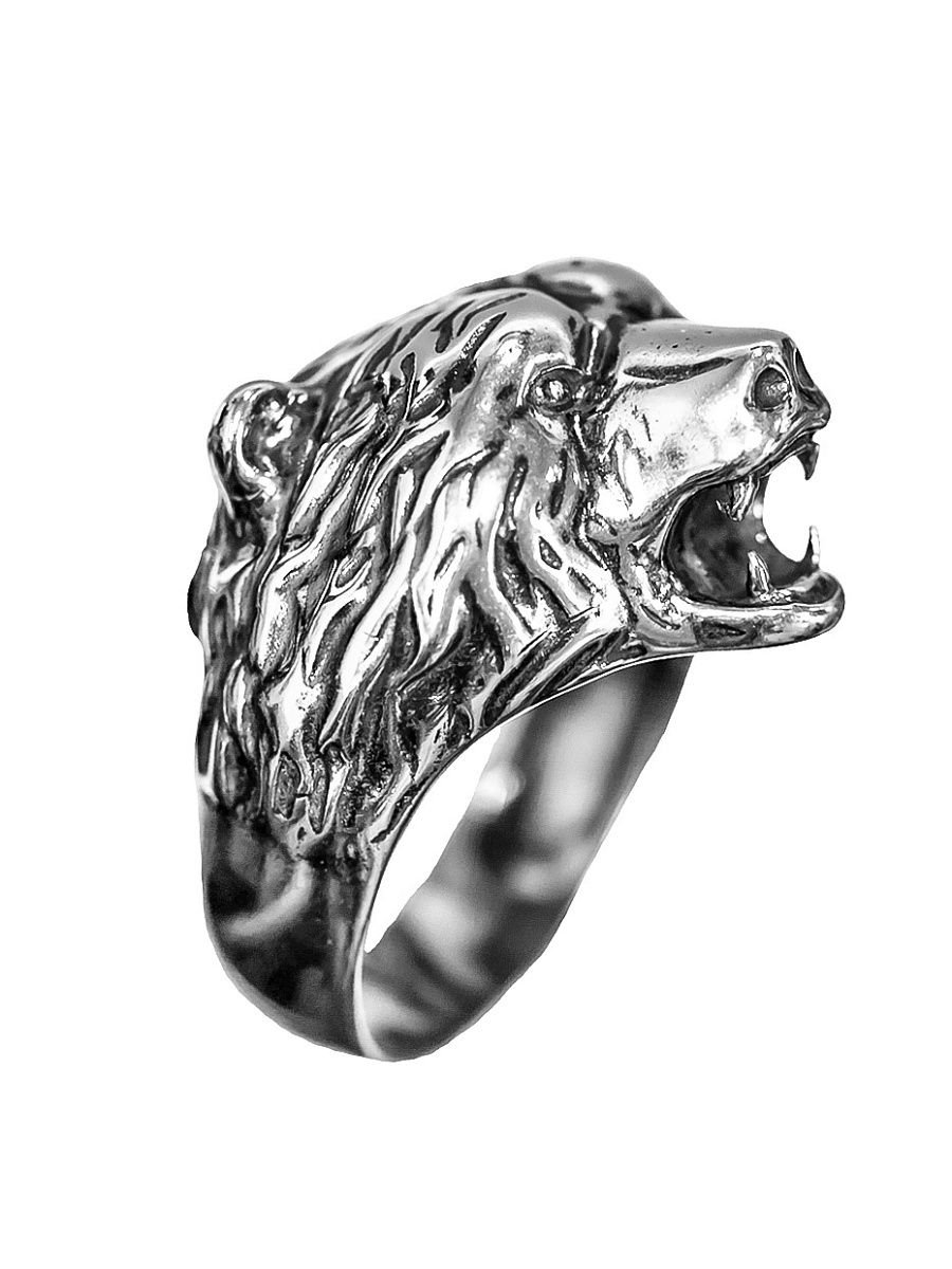 """Rings """"Bear"""" 925 silver jewelry gift"""