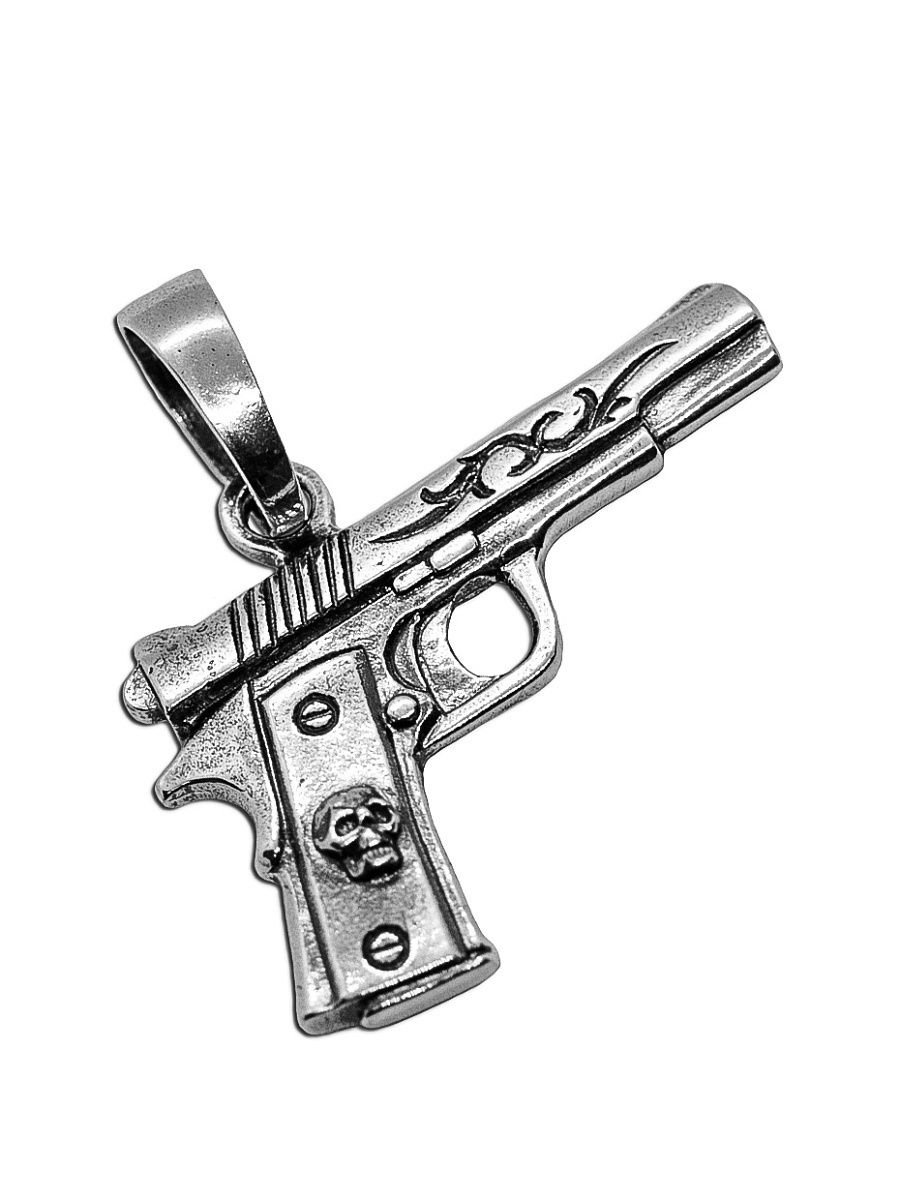 """Pendants """"Colt 1911"""" 925 silver jewelry gift"""