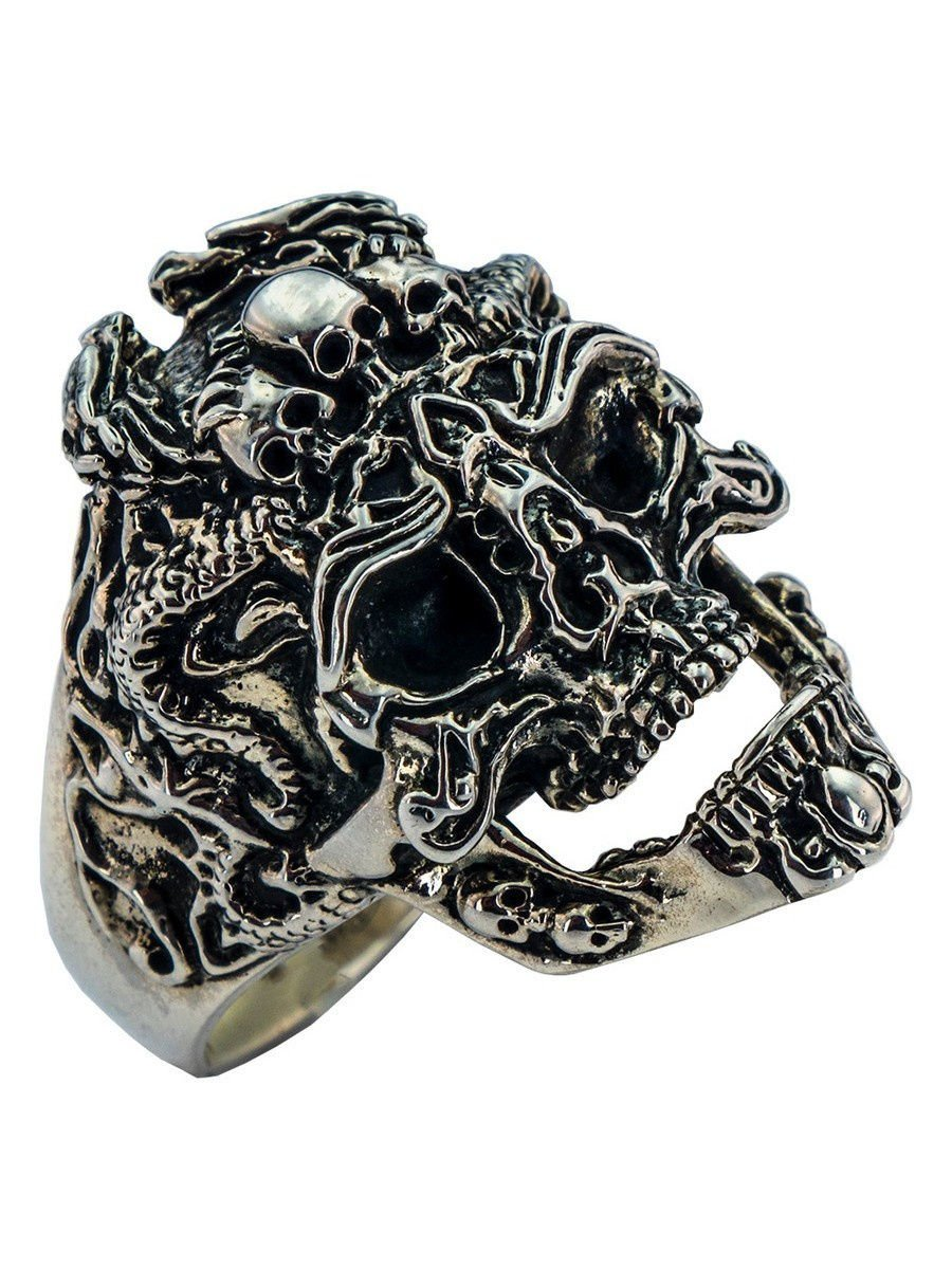"Rings ""Brutal Skull"" 925 silver jewelry gift"