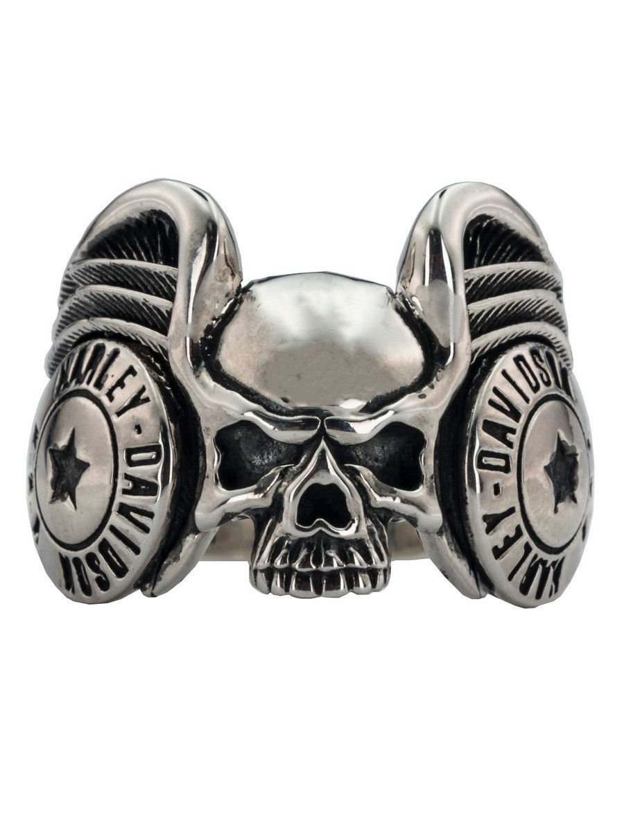 """Rings """"Skull"""" 925 silver jewelry gift"""