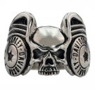 "Rings ""Skull"" 925 silver jewelry gift"