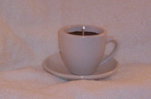 Espresso Cup Coffee Candle