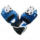 Motorcycle RACING GLOVES Motorbike Genuine Cowhide Leather GLOVES Protective Gloves Size S