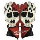 Motorcycle RACING GLOVES Motorbike Genuine Cowhide Leather GLOVES Protective Gloves Size L
